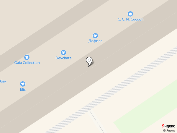 brand gallery на карте