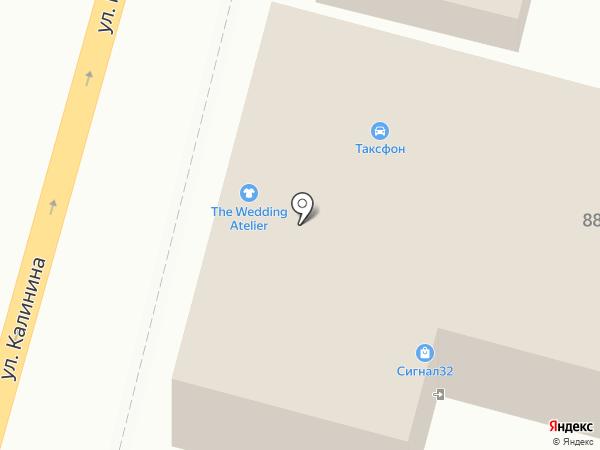Трубка Брянск на карте
