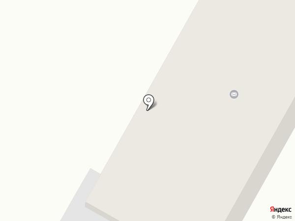 Почтовое отделение №1 пгт. Кировское на карте