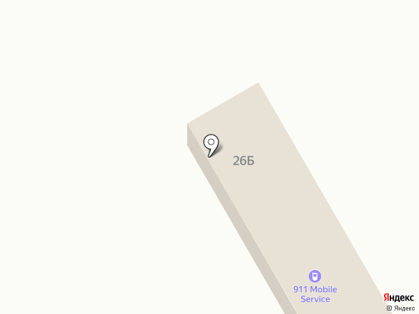 911 Mobile Service на карте
