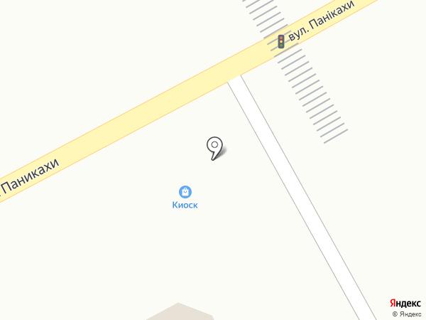 Точка-М на карте