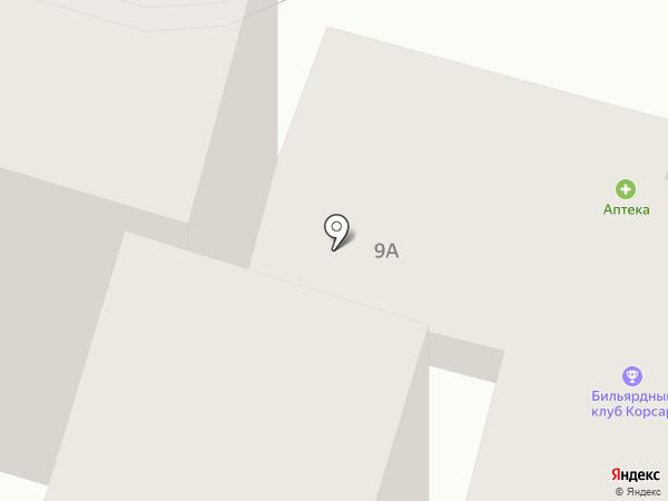 Корсар на карте