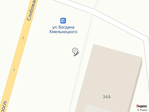 EXIST.UA на карте