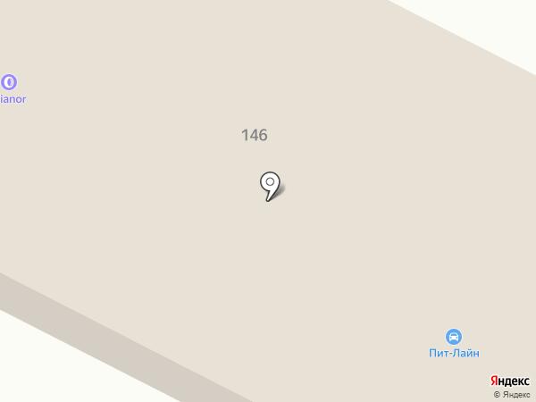 PITLINE на карте