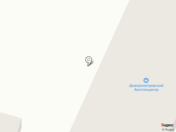 Юбилейный на карте