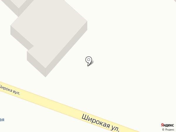 Світанок на карте