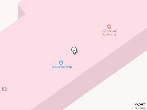 Підгородненська амбулаторія на карте