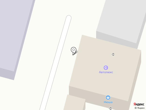 Нюша на карте