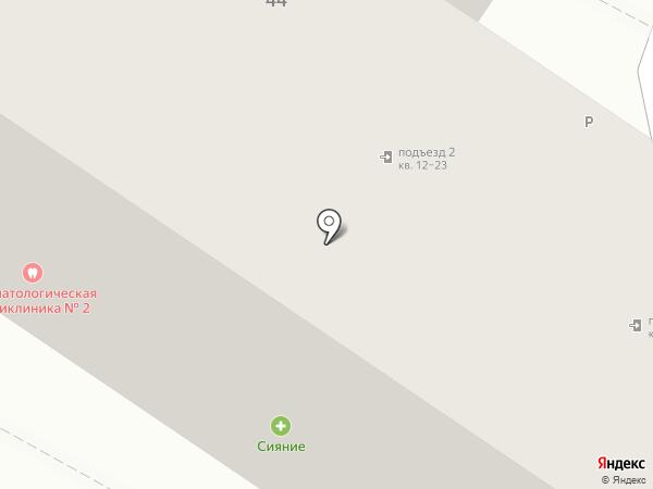Молочный дворик на карте