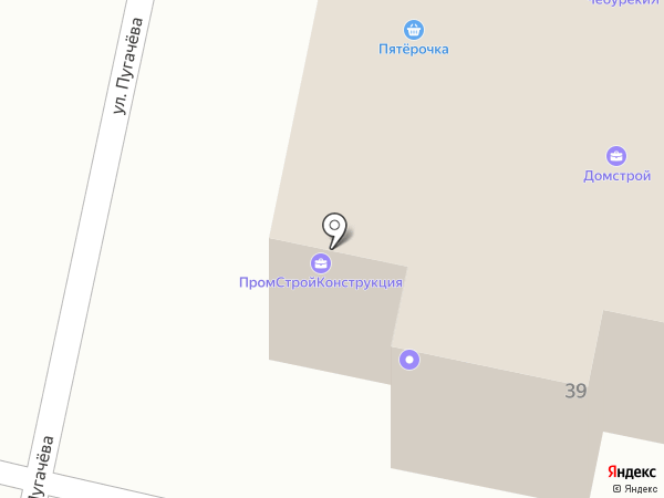 Центр систем безопасности на карте