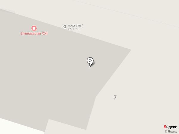 Маленький стиляга на карте
