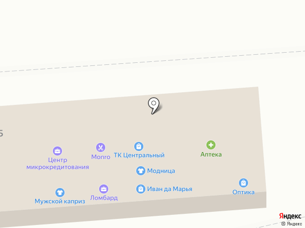 Адвокатский кабинет Иванова А.И. на карте