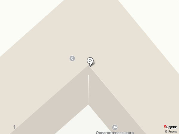 Орёлтеплоэнерго на карте