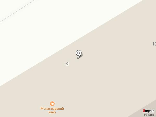 Монастырский хлеб на карте