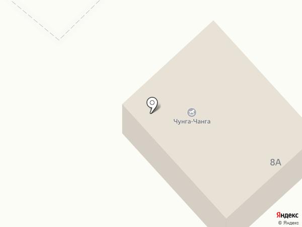 Чунга-чанга на карте