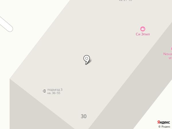 Растр-Сервис на карте