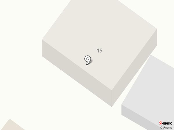 Ёлочка на карте