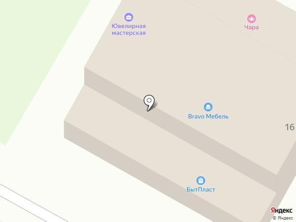 Лёвушка на карте