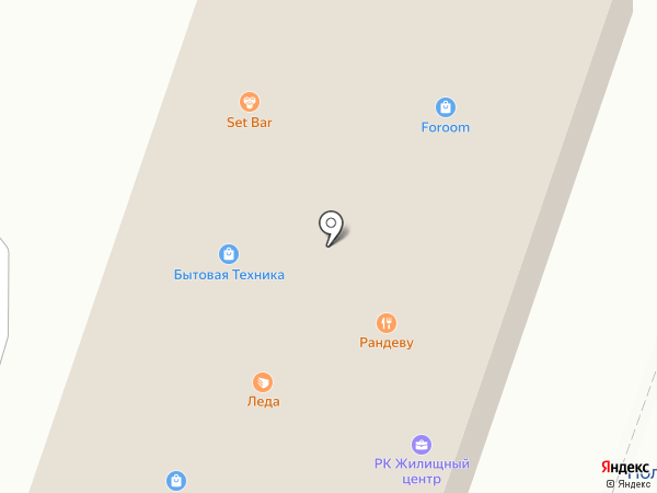 САКОР на карте