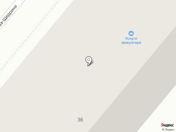 МСТА на карте
