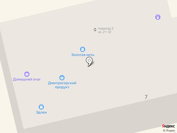 Милабель на карте
