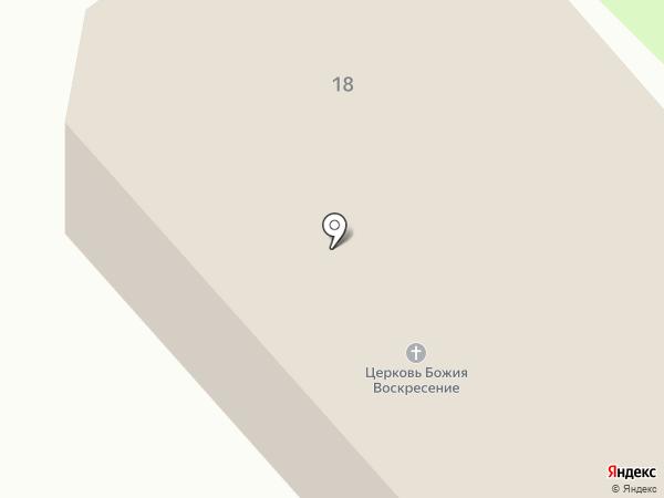 Церковь Божия Воскресение на карте