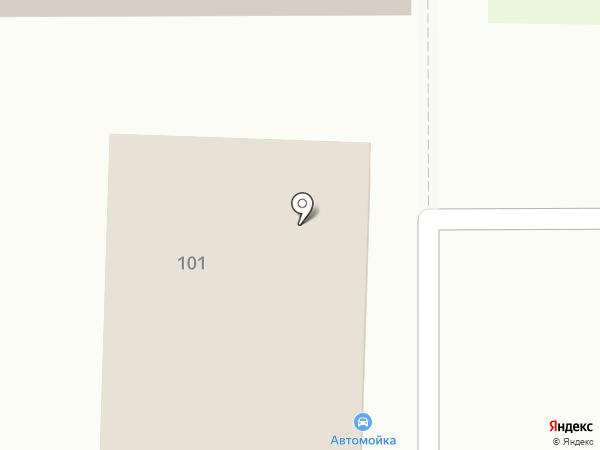 Осьминог на карте
