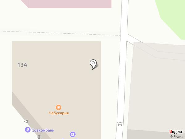 Кореечка на карте
