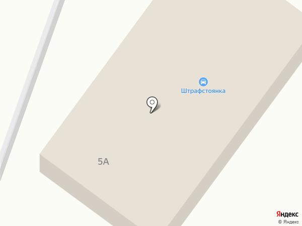 Автостоянка оштрафованного транспорта на Белокирпичной на карте