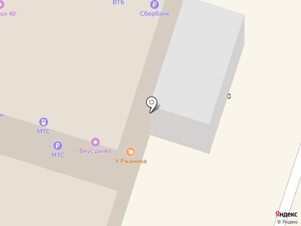 Парикмастерский на карте