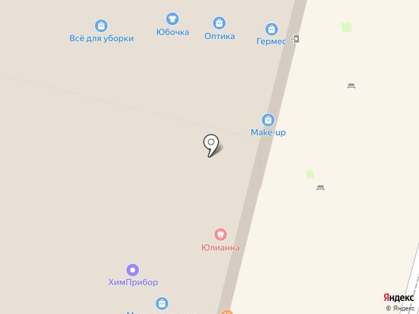 Снастёна на карте