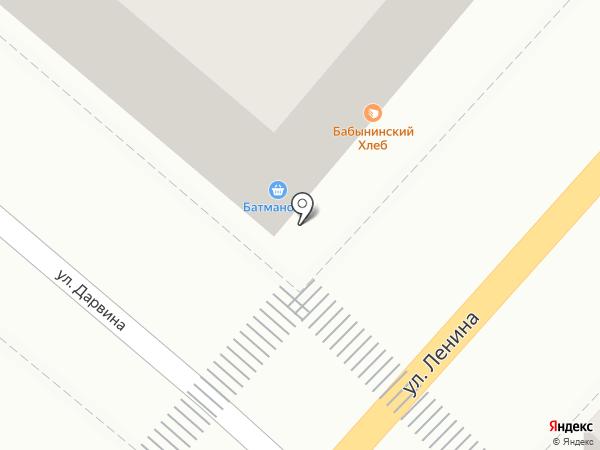 Батманофф на карте