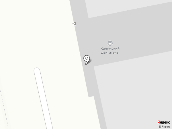 Калужское опытное бюро моторостроения на карте