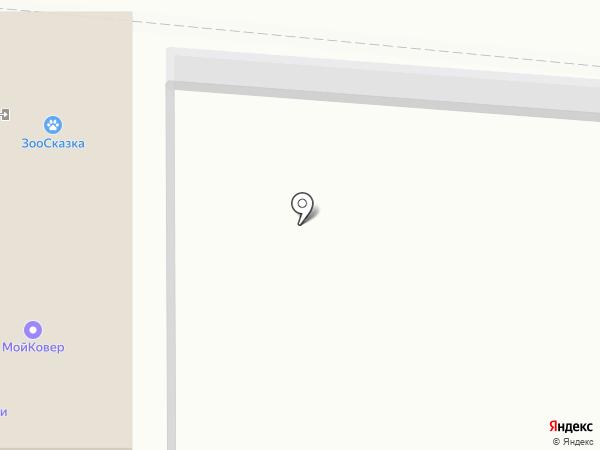Небоскреб на карте