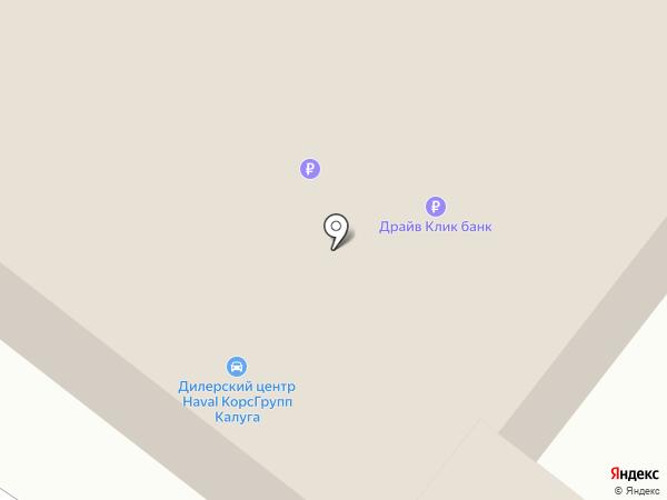 Калуга-Лада на карте