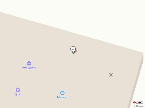 Стрелецкий на карте