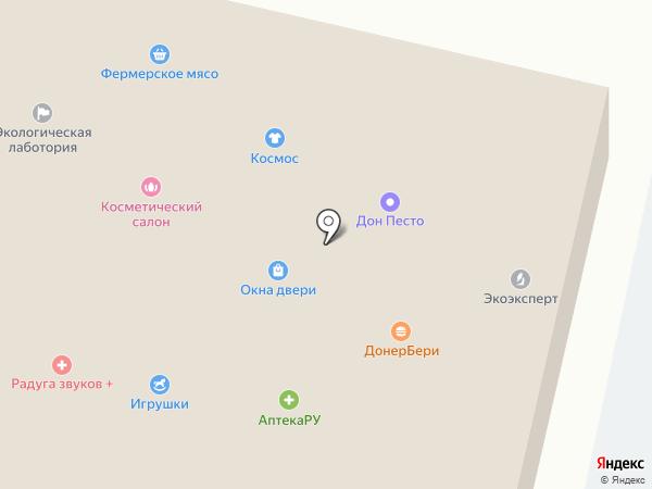Хмельной на карте
