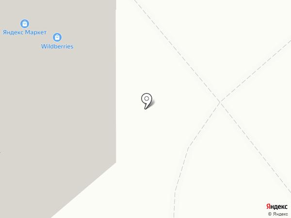 Светлячок на карте