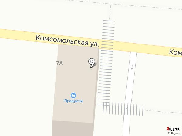 Инкост на карте