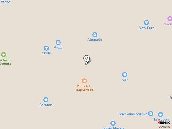 ХОЛСТОР на карте