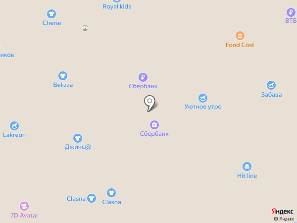 Модный коктейль на карте