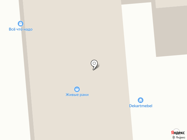 Магазин постельных принадлежностей на карте