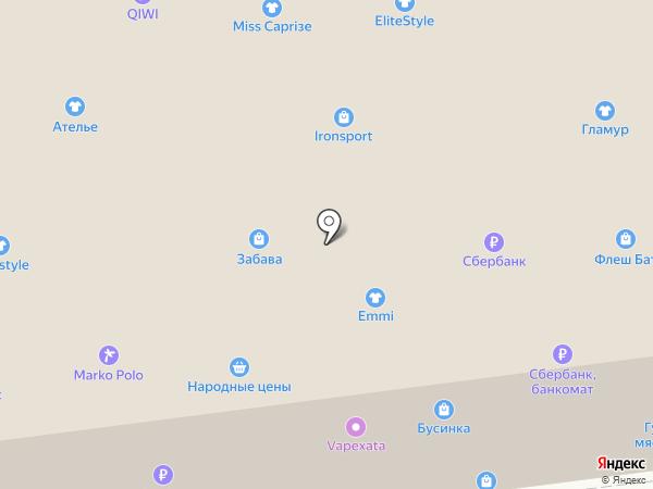 Фаббрис на карте