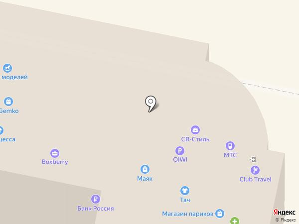 Deloras на карте