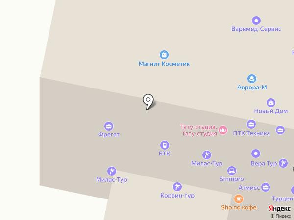 АльфаРесурс на карте