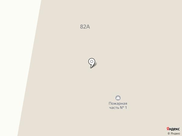 1 отряд ФПС по Белгородской области на карте
