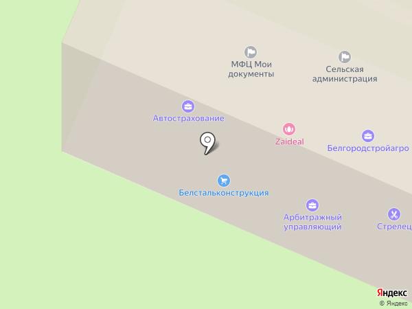 Белгородстройагро на карте