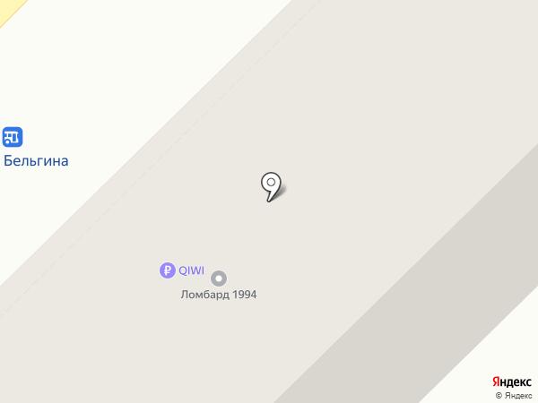 Великан на карте