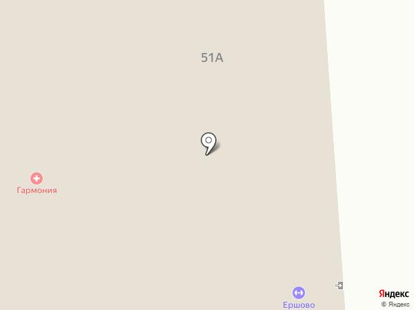 Ершово на карте