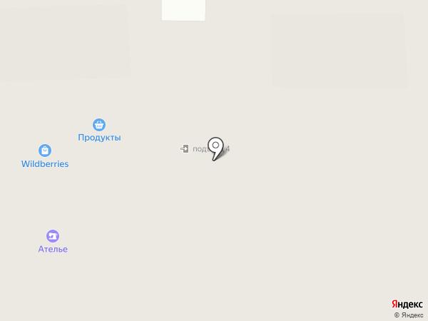 Малая Истра на карте